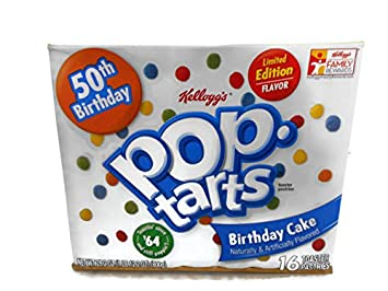 Image Unavailable Not Available For Color Kelloggs Pop Tarts Limited Edition Birthday Cake