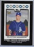 2014 Topps Series 1 Baseball Clayton Kershaw Silk Rookie Patch Card # RCP-22