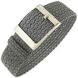 Eulit Palma 20mm Grey Perlon Watch Strap