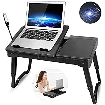 Amazon Com Gpct Laptop Table For Bed Bed Table Trays For