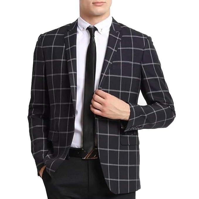 Amazon.com: RONGKIM Blazer - Conjunto de traje para hombre ...