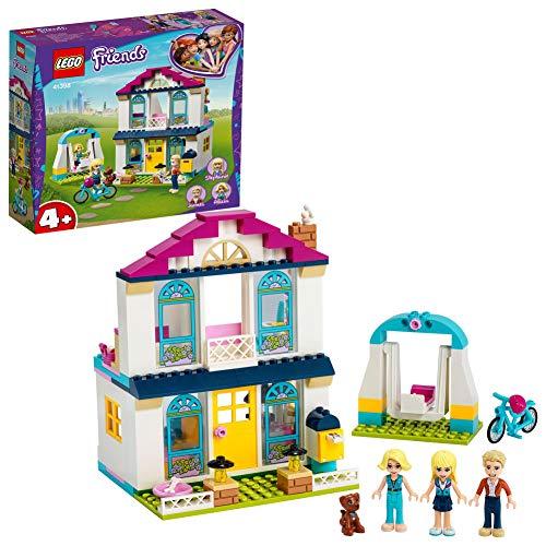 LEGO41398Friends4+Stephanie'sHouseDollhousePlaySetwithFamilyFigures,ToysforPreschoolKids