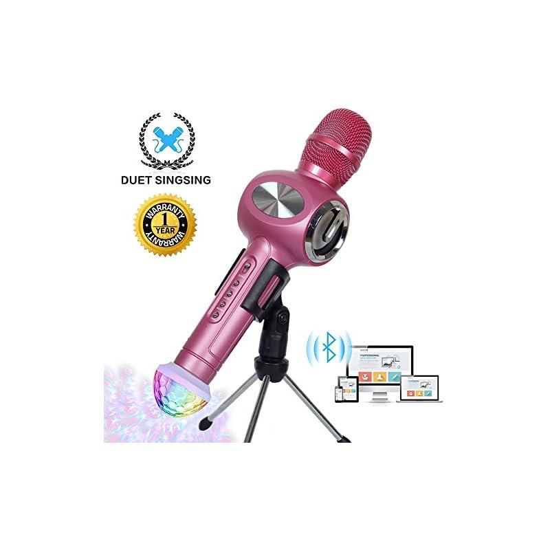Karaoke Microphone Wireless Bluetooth Mi