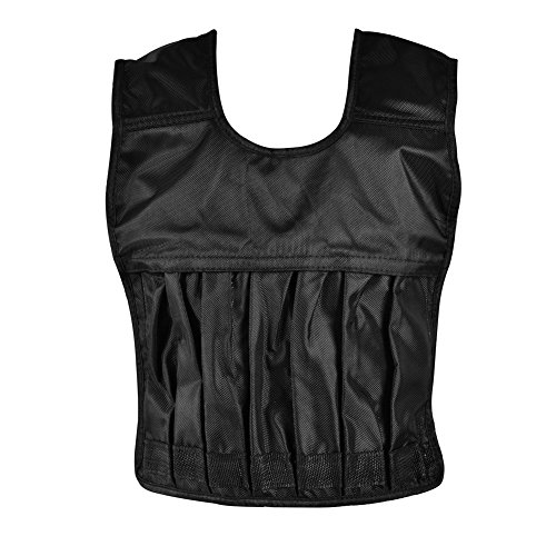 T-best Adults Adjustable Loading Weighted Vest Workout Training Waistcoat Fitness Equipment by T-best