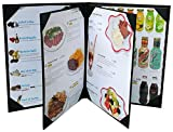 """Menu Covers (Packed of 3 pcs) Holders 8.5"""" X"""