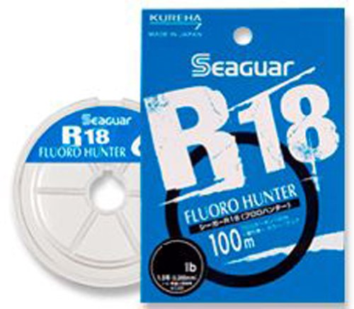 KUREHA Seaguar R18 FLUORO HUNTER #1.5/6lb 100m For Sale