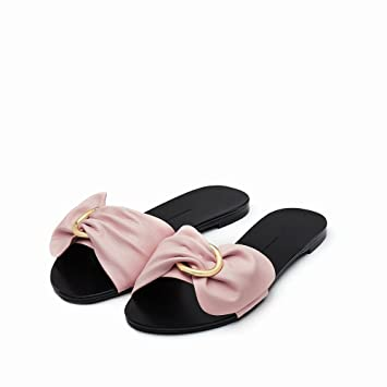 Puro Dedo Arco Pie Dididd Abierto Color Del Zapatos Verano Planos EXw4qp