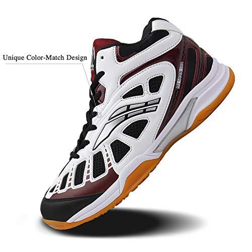 Mishansha Mens Court Squash Badminton Tennis Shoes Indoor Outdoor Non Slip