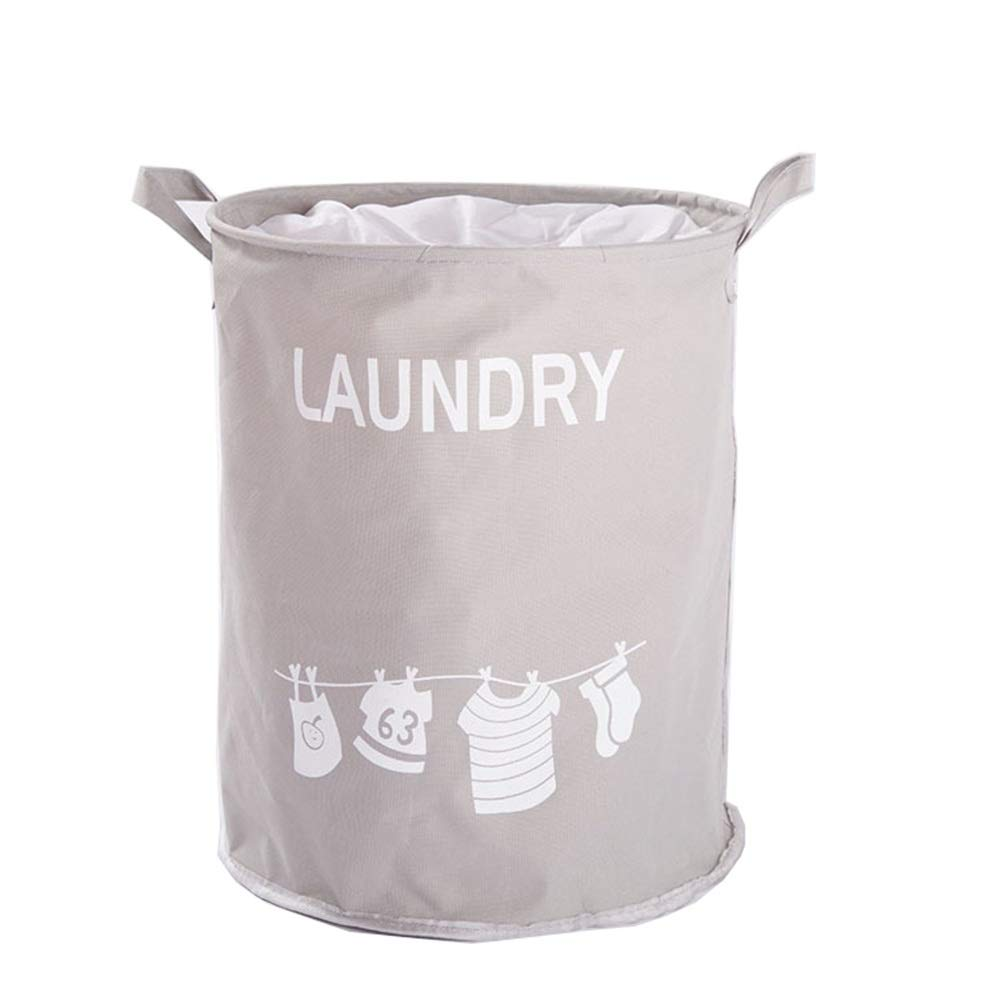 Jajx-hu Dirty Clothes Laundry Storage Basket 2 Pcs/Pack Clothes Laundry Hamper Storage Bin Collapsible Storage Basket Kids Canvas Laundry Basket for Home Bedroom Nursery Room by Jajx-hu