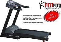 Fitifito EMEC8500 Profi Laufband Heimtrainer Fitnessgerät Sportgerät 7 PS mit...