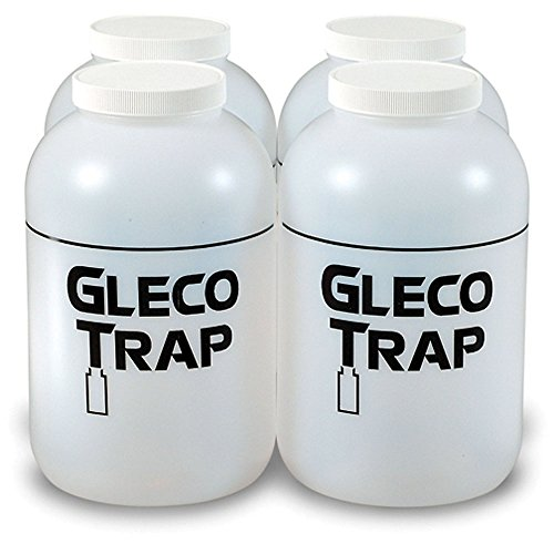 Practicon 7078717 Gallon Gleco Trap Replacement Bottles (Pack of 4) by Practicon