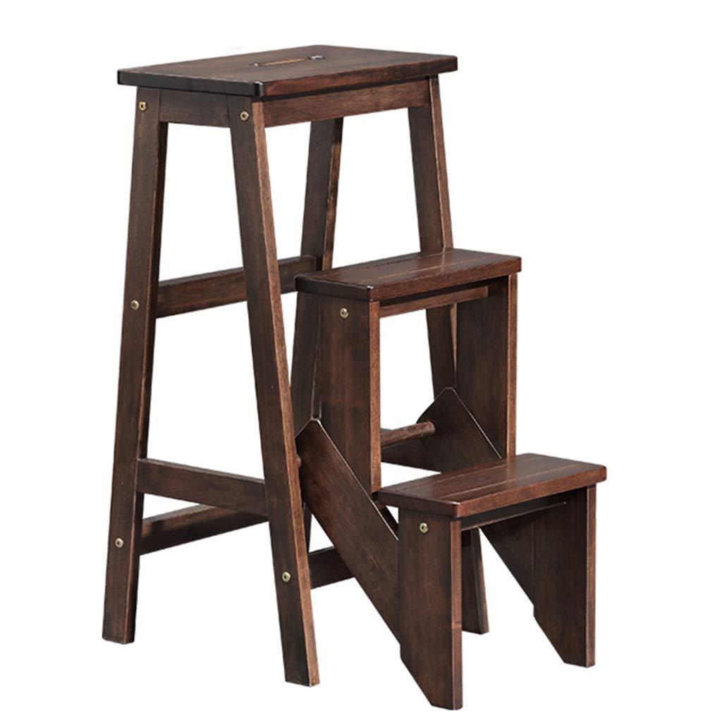 円高還元 はしご足場 避難はしご 無垢材の折り畳み式はしごの椅子多機能はしごの椅子二重目的はしごのはし台のはし台木製はしごの花壇 避難はしご Brown (Color : Brown, Size : B07K5757VG 39*58.5*75cm) 39*58.5*75cm Brown B07K5757VG, 大勝軒:b25dc2db --- itourtk.ru