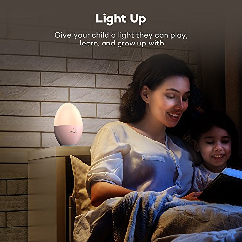 Night-Lights-for-Kids-VAVA-Baby-Night-Light-Bedside-Lamp-Safe-ABSPP-Eye-Caring-LED-Adjustable-Brightness-and-Color-Touch-Control-IP65-Waterproof-80-hours-Runtime