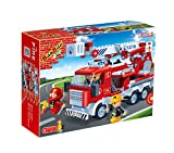 Banbao  Building Blocks Fire Truck, Multi Color