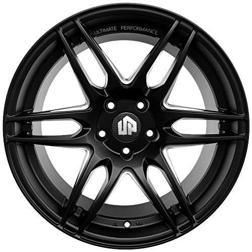 "Bmw X9: 19"" UP620 Staggered Wheels Set Fits BMW In Matte Black"