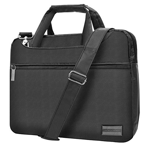 VanGoddy NineO Slim Slate Grey Messenger Bag for Microsoft Surface Laptop / Surface Book / Surface Pro Series 11''-13.5in by Vangoddy (Image #1)