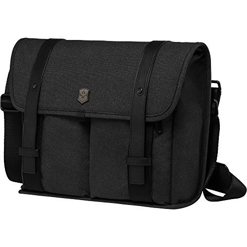 Urban Gear Messenger Bags - Victorinox Architecture Urban Lombard Laptop Messenger Bag, Black, One Size