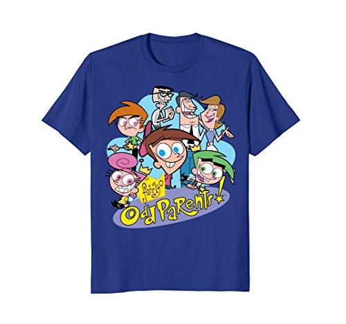 Nickelodeon The Fairly OddParents Retro Character T-Shirt