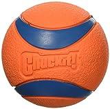 Chuck it Ultra Ball, Large/Grande, Orange (2 Pack)