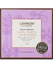 Gryphon Earl Grey Lavender Tea, 20 Count