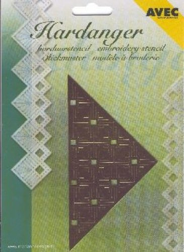 Ecstasy Crafts Hardanger Embroidery On Paper - Triangle