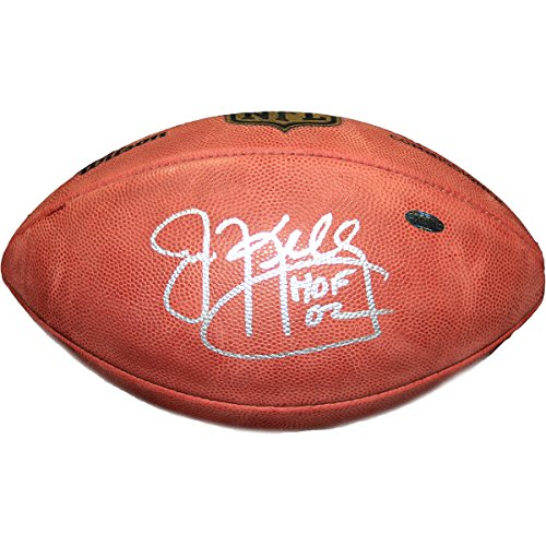 NFL Buffalo Bills Jim Kelly Signed Football by Steiner Sports