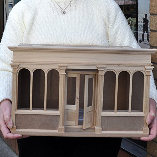 Landygo store roombox 1:12 dollhouse Quick assembly wooden kit by miniLAND - The Center for Hand Crafted Miniatures