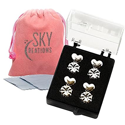 Earring Lifters 2 Pairs Of Hypoallergenic Earring Backs Lifters