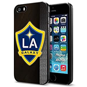 diy zhengSoccer MLS LA GALAXY FC SOCCER FOOTBALL Logo, Cool Ipod Touch 5 5th Smartphone Case Cover Collector iphone Black