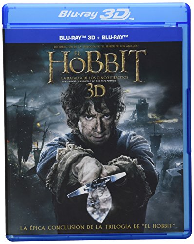 El Hobbit: La Batalla de los Cinco Ejércitos 3D (Combo Pack) [Blu-ray]