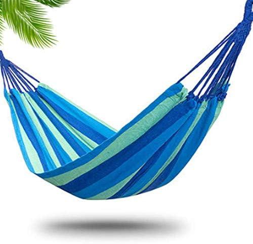 YIDAINLINE Hamaca de jardín Camping, 260 x 80/150 cm, Hamaca portátil, Camping y Exteriores o Jardines y Viajes, máx. Carga máxima: 150 kg.: Amazon.es: Jardín