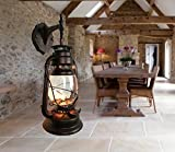 Yue Jia Rustic Lantern Wall Mounted Light