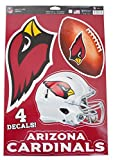 Official National Football League Fan Shop Licensed NFL Shop Multi-use Decals (Arizona Cardinals)