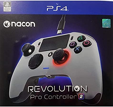 NACON Revolution Pro Controller V2 [Wired] Gamepad PS4/PC Playstation 4 Esports Fighting Personalizable: Amazon.es: Electrónica