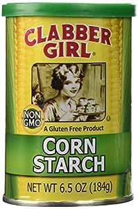 Clabber Girl Corn Starch, 6.5 oz