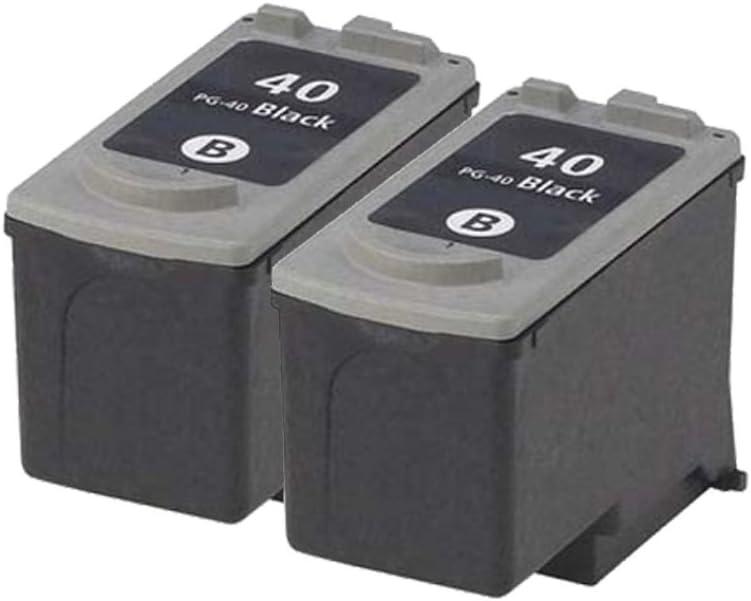 PerfectPrint - Cartuchos de tinta, color negro, 2 unidades: Amazon.es: Oficina y papelería