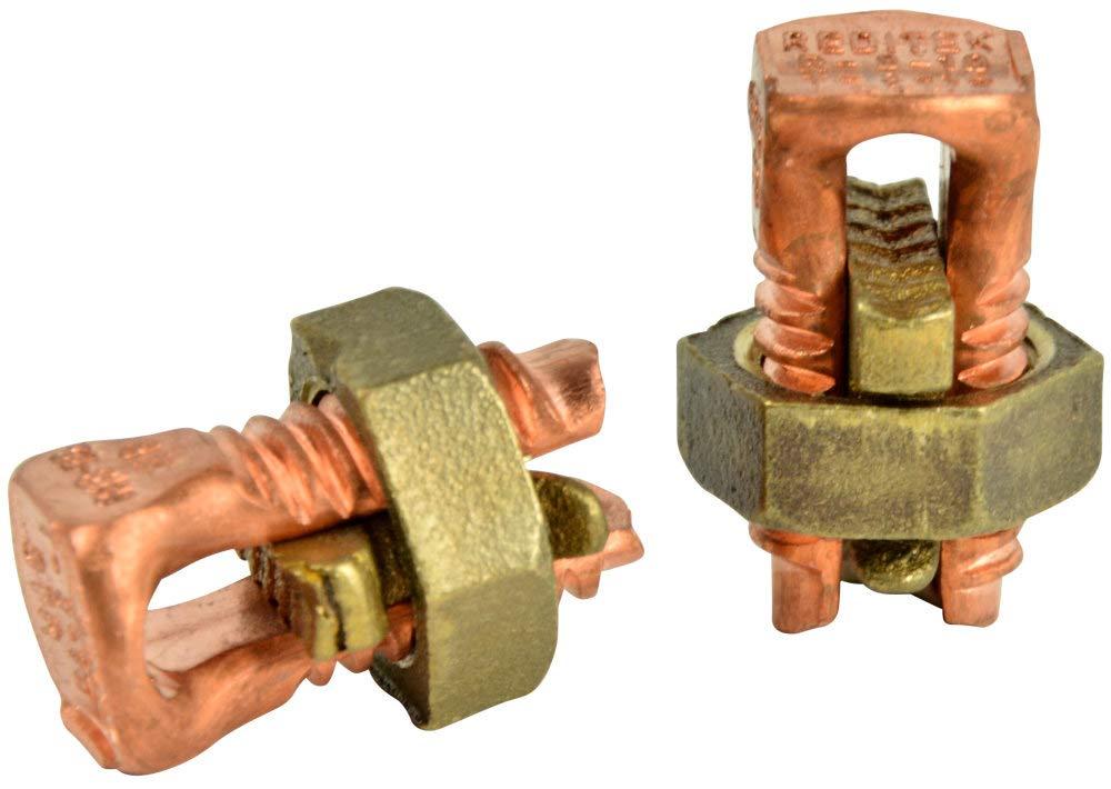 GB Gardner Bender GSBC-8 #16 To #10 AWG Stranded & Solid Copper Split Bolt Connector