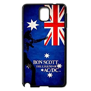 [MEIYING DIY CASE] For Samsung Galaxy NOTE3 Case Cover -AC/DC Music Band-IKAI0446765