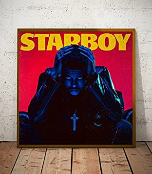 """24/"""" sizes 20/"""" The Weeknd Starboy poster wall art home decor photo print 16/"""""""