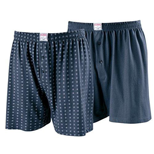 gris Adamo de Fashion Xxl boxeador dos de azul Shorts paquete q8EwtXn