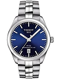 PR 100 Automatic Blue Dial Mens Watch T101.407.11.041.00