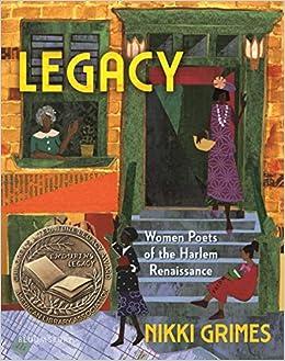Amazon.com: Legacy: Women Poets of the Harlem Renaissance: 9781681199443:  Grimes, Nikki: Books