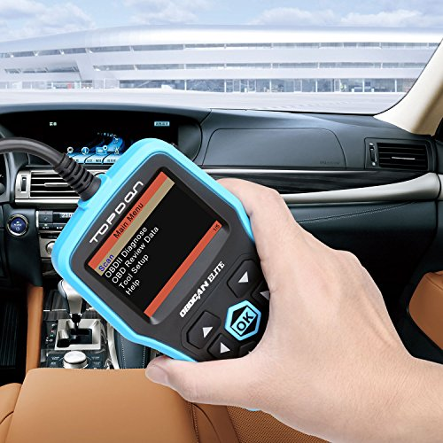 TOPDON Elite OBD2 Scanner, ABS SRS Diagnostic Tool Car Engine Fault Code Reader CAN Diagnostic Scan Tool, Universal Check Engine Light Automotive OBDII Scanner by Topdon (Image #3)