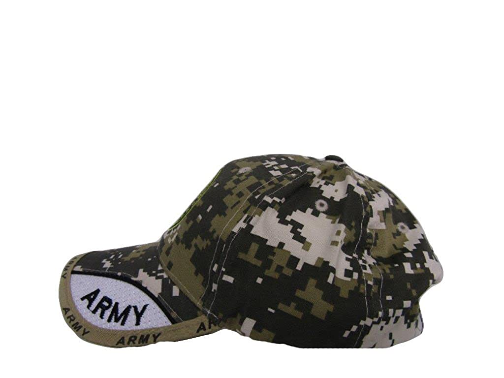 c02894147b610 Amazon.com  US Army Seal Emblem ACU Camo Camouflage Green Embroidered Ball  Hat Cap  Clothing