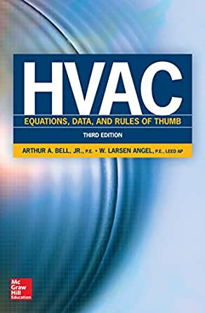 Hvac equations, data, and rules of thumb, third edition, arthur a.