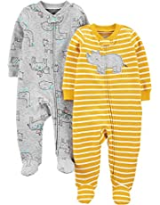 Simple Joys by Carter's Baby-Boys 2-Pack Cotton Footed Sleep and Play