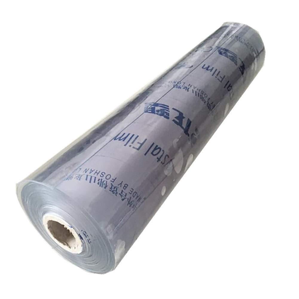 500g // Taille : 1.1/×2M Tissu en Plastique de Rideau en Salle de Lavage de Voiture pour la Tente de Balcon B/âche Transparente /épaisse de PVC 0.3mm