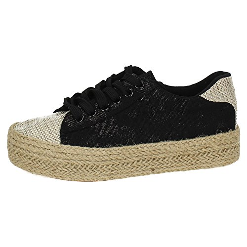 DEMAX ,  Damen Sneakers Schwarz