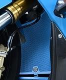 R&G Racing Radiator Guard BLACK - BMW S1000RR '10-'14, HP4 '13-'15 & S1000R '14-'15