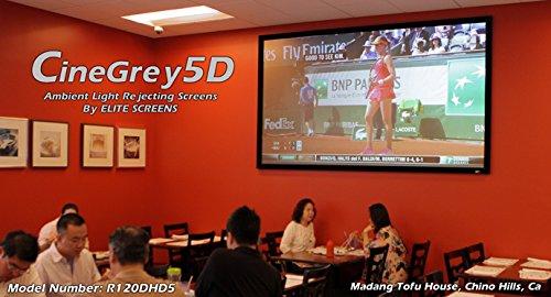 Elite Screens ezFrame CineGrey 5D, 100-inch Diagonal 16:9, 8